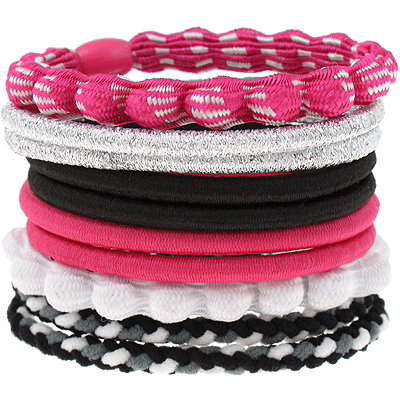 Capelli New YorkAssorted Pink Ponytail Holders