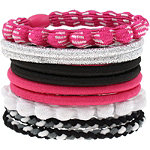 Assorted Pink Ponytail Holders