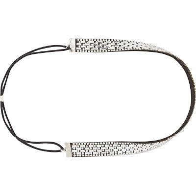 ElleBlack %26 Clear Stone Headwrap