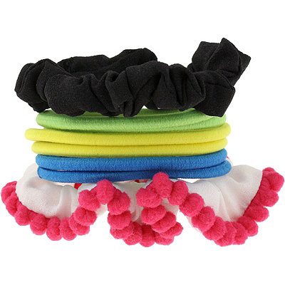 Capelli New York Assorted Ponytail Holders