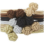 Multi-Color Knotted Elastic Scrunchies