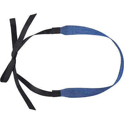Scünci Denim Choker Head Wrap