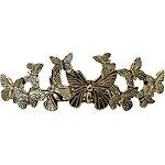 Gold Butterfly Bun Pin