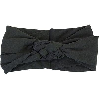 KitschBlack Braided Head Wrap
