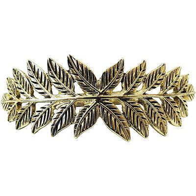 KitschGold Leaf Bun Pin