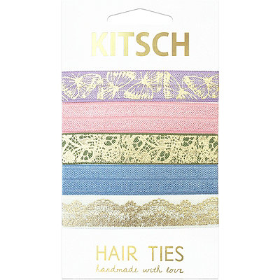 Kitsch Secret Garden Knotted Hair Ties