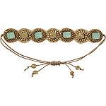 Mint Drawstring Bracelet