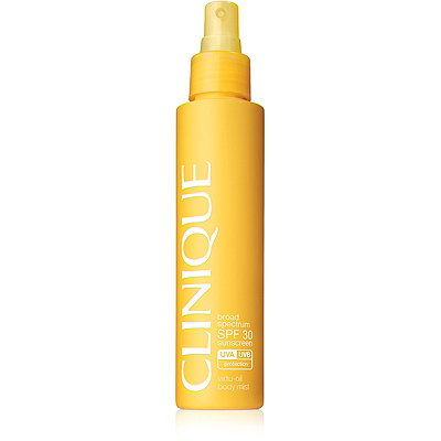 CliniqueBroad Spectrum SPF 30 Sunscreen Virtu-Oil Body Mist