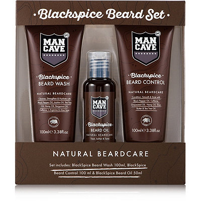 ManCaveOnline Only Blackspice Beard Set