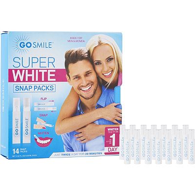 Super White Snap Packs
