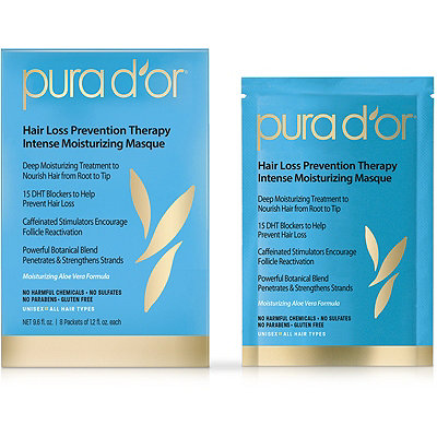 Pura d'or Online Only Hair Loss Prevention Therapy Intense Moisturizing Masque
