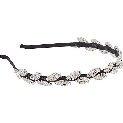 ElleRhinestone Leaf Headband