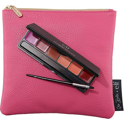 e.l.f. Cosmetics Online Only Iris Beilin Mis Amores Lip Palette %26 Clutch