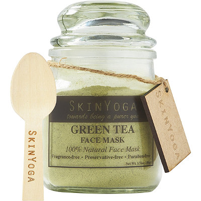 SkinYoga Online Only Green Tea Face Mask