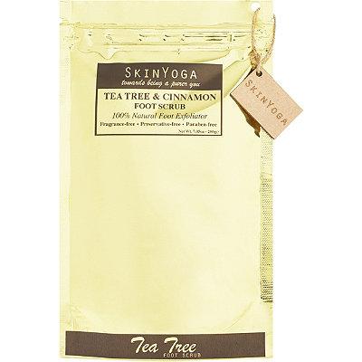SkinYogaOnline Only Tea Tree Cinnamon Foot Scrub