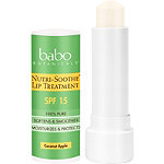 Babo Botanicals Online Only Nutri-Soothe Lip Treatment SPF 15 Mineral Sunscreen Lip Balm