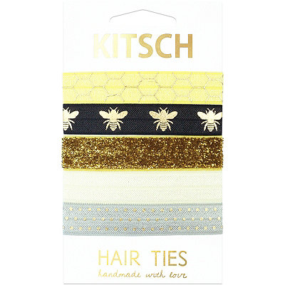 KitschButterfly%2C Flower%2C and Bee Charm Hair Ties