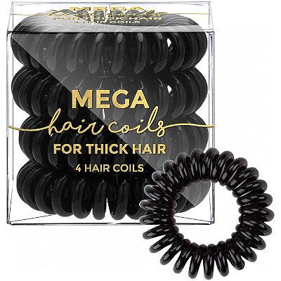 KitschMega Hair Coils in Black %26 Clear
