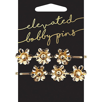 KitschBird and Floral Pearl Charm Bobby Pins