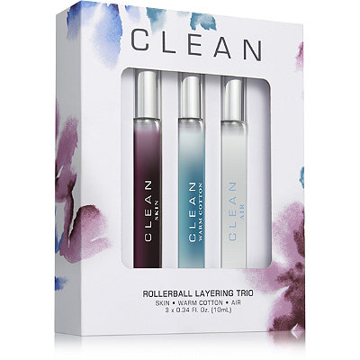 Clean Online Only Rollerball Layering Trio