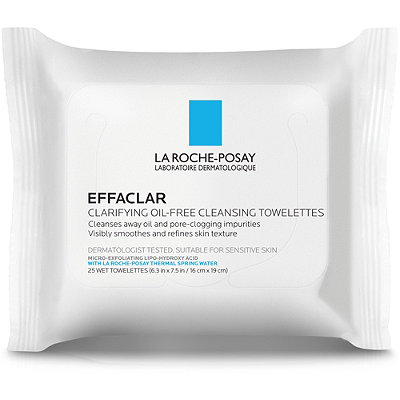 La Roche-PosayOnline Only Effaclar Clarifying Oil-Free Cleansing Towelettes