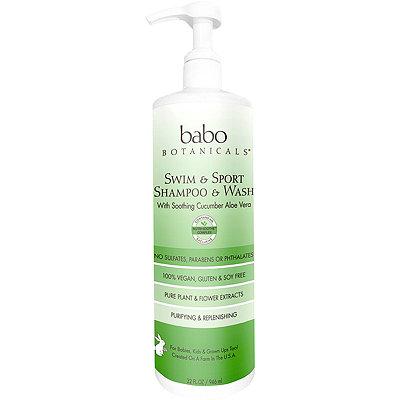 Babo BotanicalsOnline Only Swim %26 Sport Shampoo %26 Wash