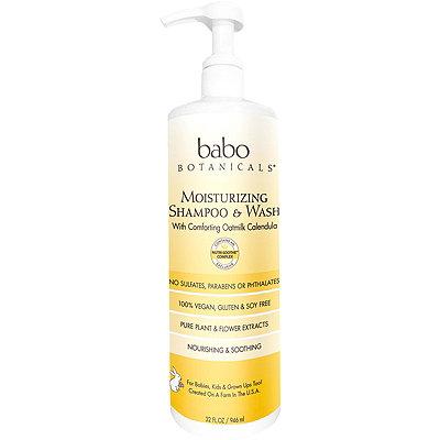 Online Only Moisturizing Baby Shampoo & Wash
