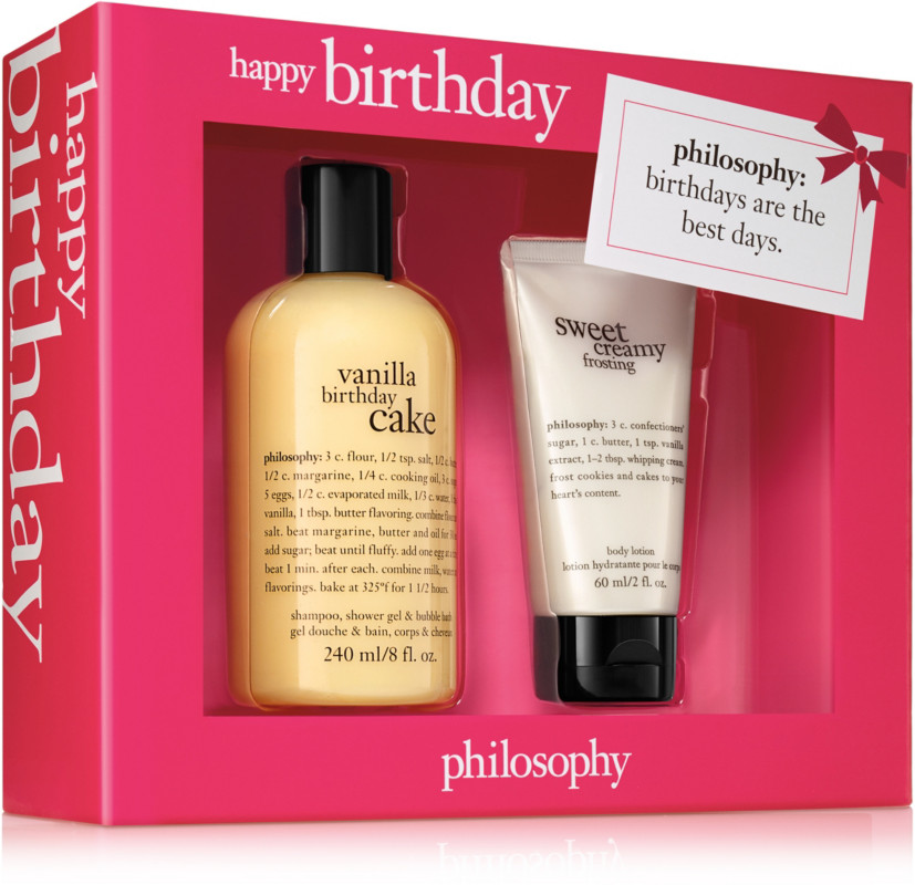 Philosophy Happy Birthday Set