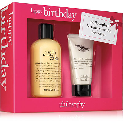 PhilosophyHappy Birthday Set