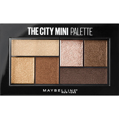 MaybellineThe City Mini Palette Rooftop Bronzes