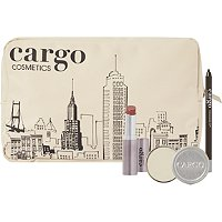Receive a free 4-piece bonus gift with your $35 Cargo Cosmetics purchase