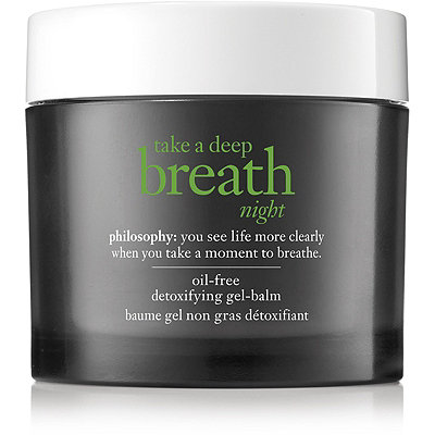 Philosophy Online Only Take A Deep Breath Night Oil-Free Detoxifying Gel-Balm