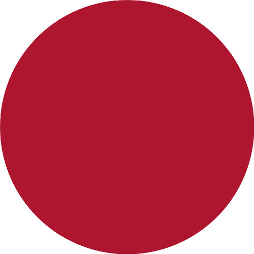 Russian Red (intense bluish-red)