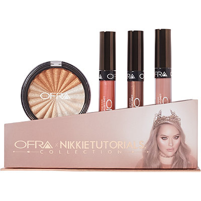 Online Only Ofra Cosmetics x NIKKIETUTORIALS Collection - Limited Edition Box