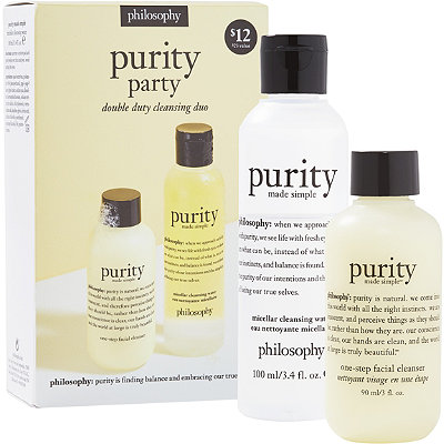 PhilosophyPurity Party Double Duty Cleansing Duo