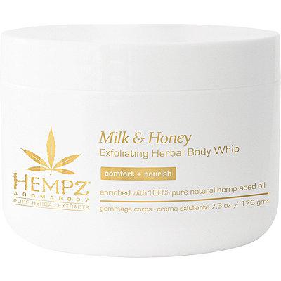 HempzMilk %26 Honey Exfoliating Body Whip