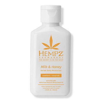 HempzTravel Size Milk & Honey Herbal Body Moisturizer