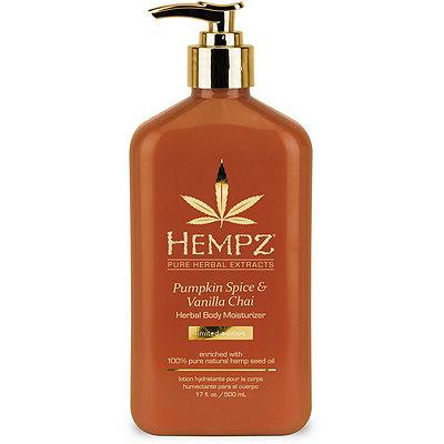 HempzPumpkin Spice %26 Van Chai  Body Moisturizer