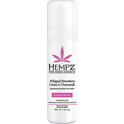 Hempz Whipped Strawberry Cr%C3%A8me %26 Chamomile Herbal Lip Balm