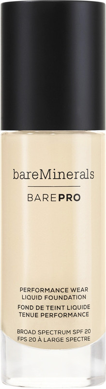 barePro Performance Wear Liquid Foundation Broad Spectrum SPF 20