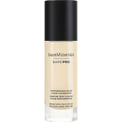 BareMineralsbarePro Performance Wear Liquid Foundation Broad Spectrum SPF 20