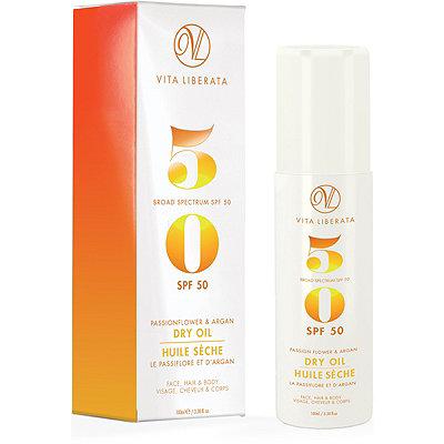 Vita LiberataOnline Only Passionflower %26 Argan Dry Oil Broad Spectrum SPF 50