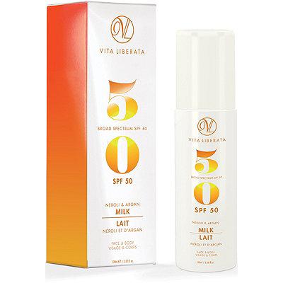 Vita LiberataOnline Only Neroli and Argan Milk SPF 50