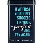 Fix Your Ponytail Ties Tin