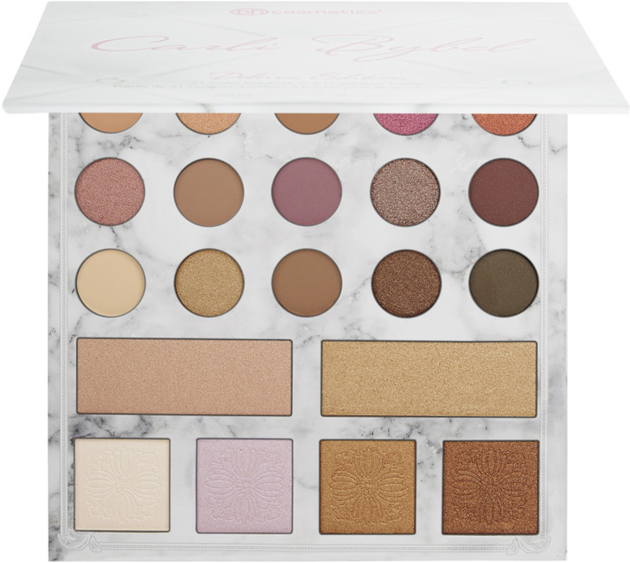 Bh Cosmetics Carli Bybel Deluxe Edition 21 Color Eyeshadow