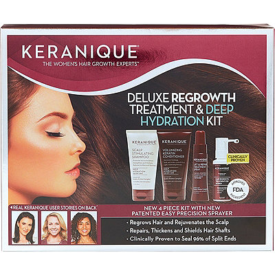 FREE Deep Hydration Shampoo & Conditioner Packette w/any Keranique purchase