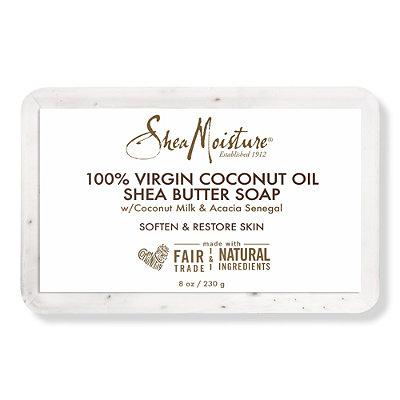 SheaMoisture100%25 Virgin Coconut Oil Oil Shea Butter Soap