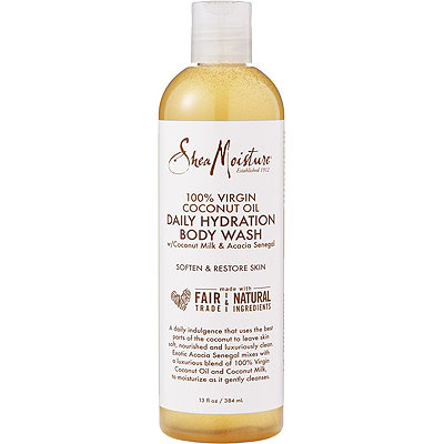 100% Virgin Coconut Oil Daily Hydration Body Wash