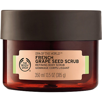 The Body ShopSpa Of The World French Grape Seed Scrub