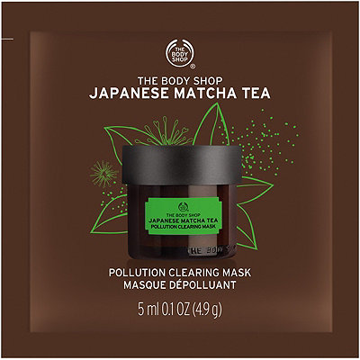 The Body ShopTravel Size Recipes of Nature Japanese Matcha Tea Mask